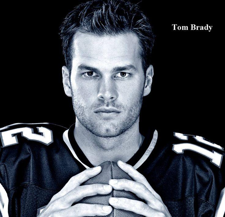 Tom Brady (American football quarterback for the New England Patriots of the National Football League.) ♥