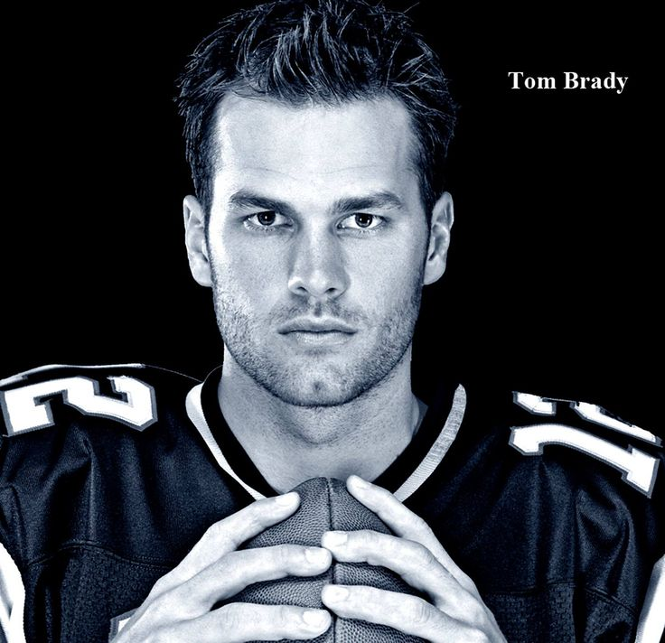 Tom Brady (American football quarterback for the New England Patriots of the National Football League.) ♥