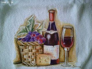 Solange Gama Coelho: Pintura em Tela,Tecido,Cursos-9196-6422(Claro),9854-3743(Tim)-Curitiba: Pano de prato