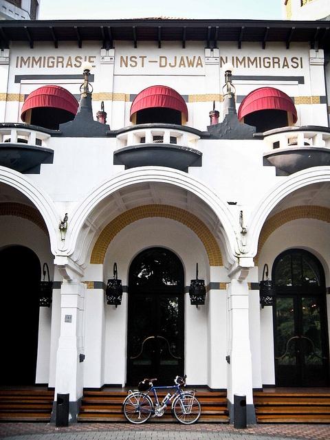 Bataviasche Kunstkring, Menteng, Jakarta   est. 1914, architect P.A.J. Moojen (1879 – 1955)