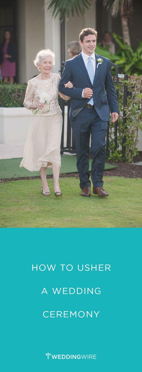 How to Usher a Wedding Ceremony - read more on @weddingwire ! {Vitalic Photo}