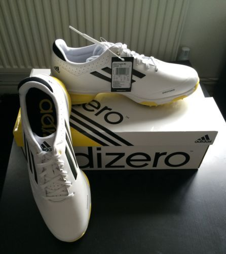 Men's Adidas adizero 6 spike golf shoes UK size 8 yellow 1 Day Auction | Add to Watch list Seller information sunven12 (391  ) 100% Positive...