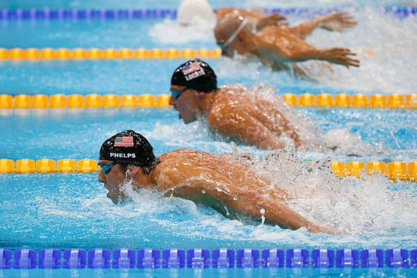 Michael Phelps and Ryan Lochte - Two amazing athletes!