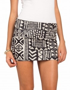 Kacie tribal skirt outfit from the bachelor