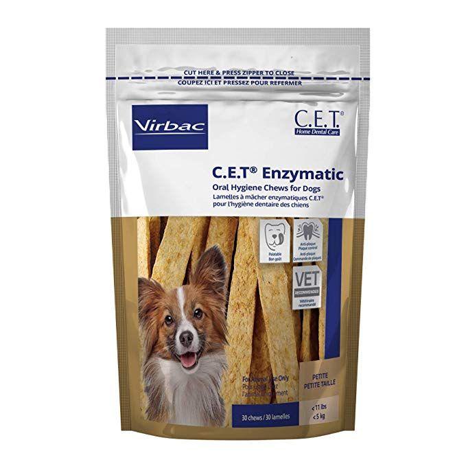 Amazon Com Virbac C E T Enzymatic Oral Hygiene Chews Small Dog