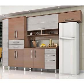 Cozinha Compacta Bartira Cíntia com 4 peças