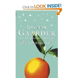 "The Orange Girl - Jostein Gaarder // Another pinner: ""One of my favorite books by Jostein Gaarder"""