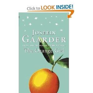 """The Orange Girl - Jostein Gaarder // Another pinner: """"One of my favorite books by Jostein Gaarder"""""""