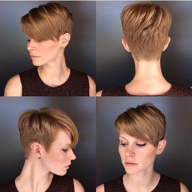 Ken jij de Undercut trend in kort haar nog niet? Check dan snel deze 10 geweldige korte kapsels met zo'n opgeschoren nek! - Kapsels voor haar