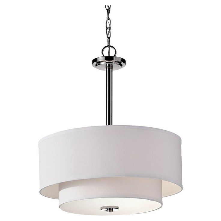 image vintage drum pendant lighting. Feiss Three Light Polished Nickel Drum Shade Pendant From Malibu Collection Image Vintage Lighting A