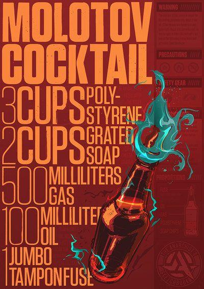 Molotov Cocktail Recipe by tristanvogt