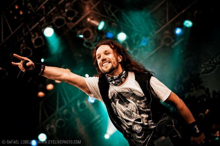 Tony Kakko of Sonata Arctica