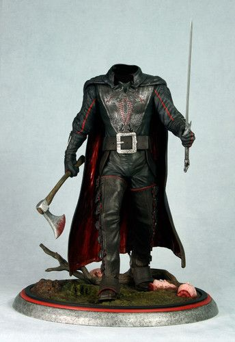 Sleepy Hollow Headless Horseman 1:4 Scale Movie Statue TIM Burton Johnny Depp    eBay
