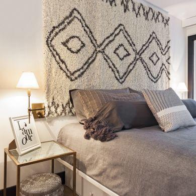 Tapis en tête de lit - Chambre - Inspirations - Décoration et rénovation - Pratico Pratique