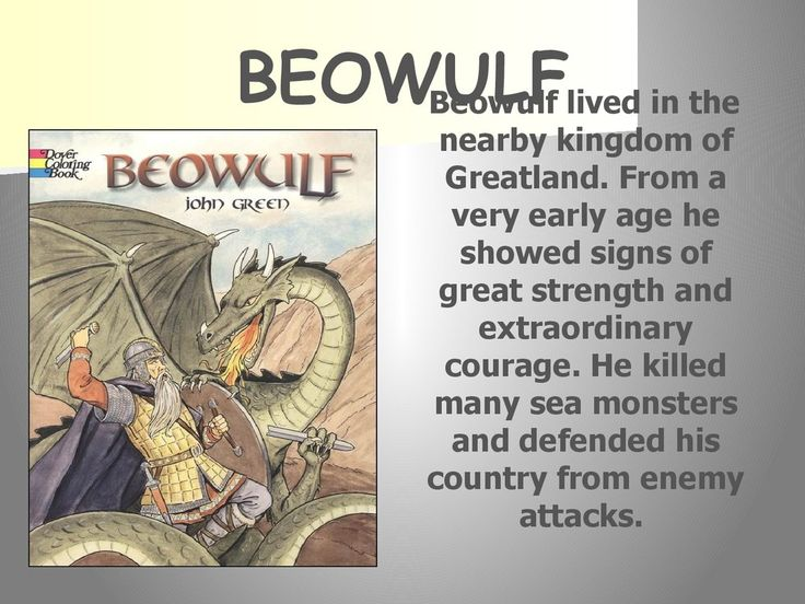 "an analysis of heroism in beowulf in old english literature Beowulf by dana huff old english forms of the names for example ""heorot"" is rendered as ""herot"" a large version of the ""genealogies."