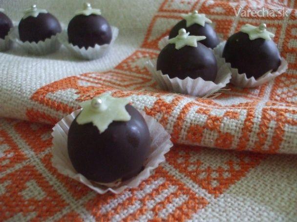 Gaštanové guľky v kokosovom kabáte - Recept