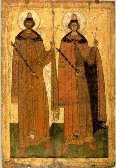 Св. мч. Борис и Глеб XIV