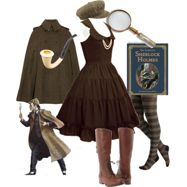 holy moly i need this!! outfit!!!: Cosplay, Halloween Costumes, Clothing, Holmes Inspiration, Sherlock Holmes Costume, Styles, Inspiration Outfit, The Dresses, Costume Idea