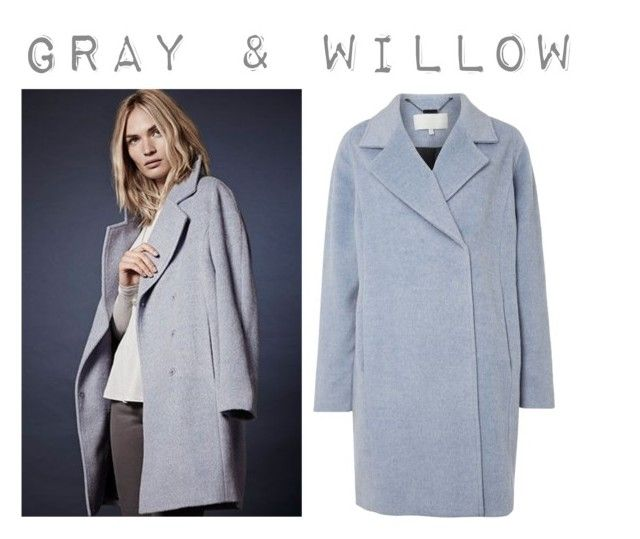 """""""Gray & Willow Vesi Cocoon Coat"""" by house-of-fraser ❤ liked on Polyvore featuring House of Fraser and Gray & Willow"""