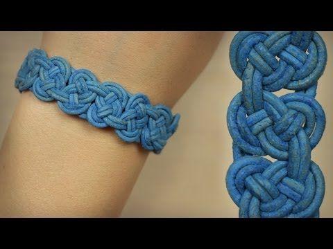 DIY Knoten-Armband - Seemannsknoten in Reihe - einfacher als es aussieht ;). Postet eure Projekte unter #zusammengefrickelt ???? Knoten-Verschluss: ... Seemannsknoten-Armband: ... --- Utensilien: Bänder, Leder oder Stoff ist egal, Bastelbedarf Schere