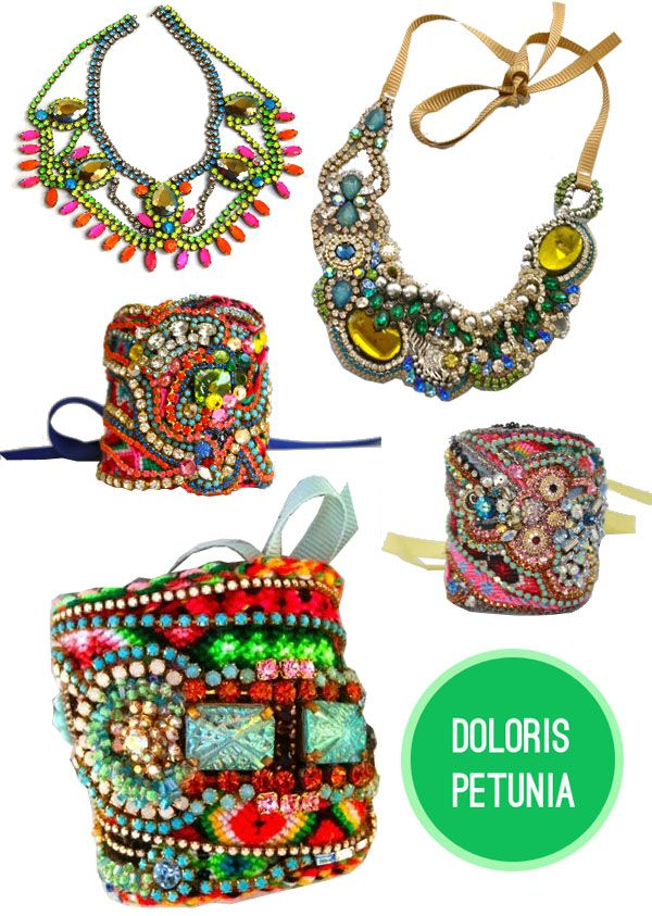 this jewelry is so rich and so lovely and sooooo colorful