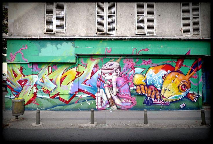 Graffiti by binho