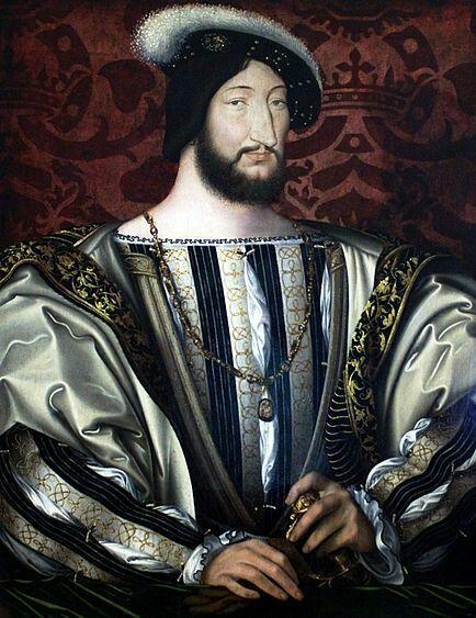 Портрет Франциска I работы Франсуа Клуэ