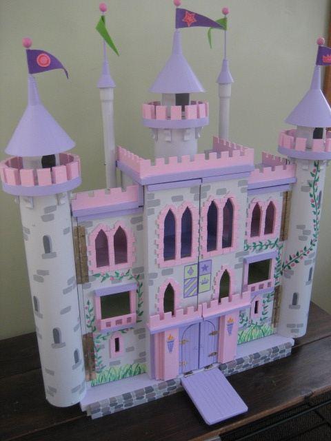 Castle dollhouse I made for my Granddaughter Ruby