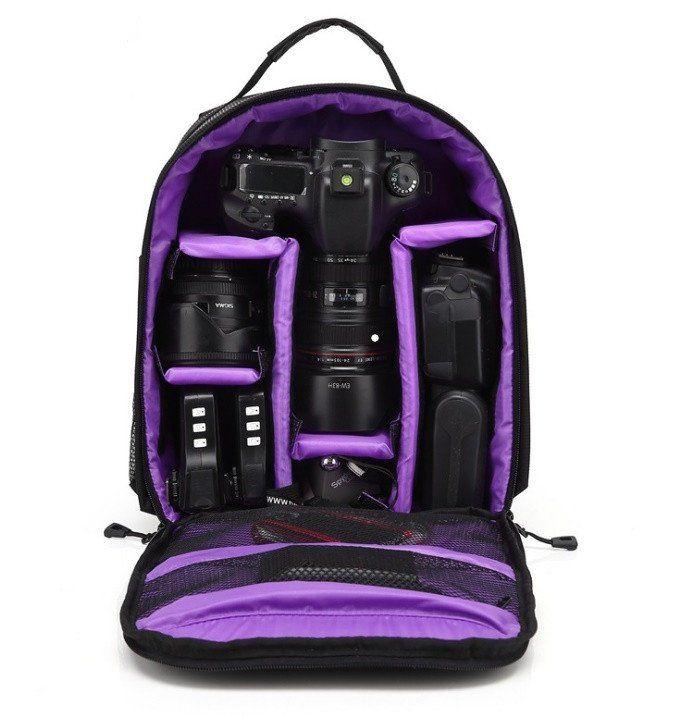 Premium DSLR Camera Bag w/ FREE Rain Cover