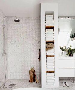 25 beste idee235n over badkamer handdoeken op pinterest