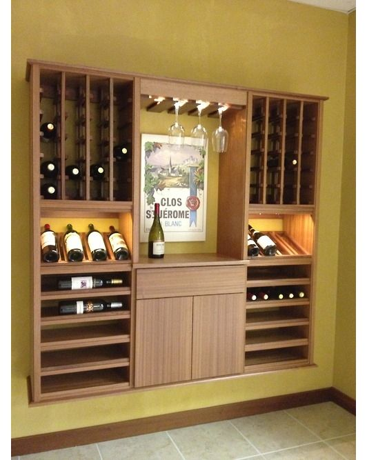 129 best wine cellars images on pinterest wine cellars for Home wine cellar design ideas