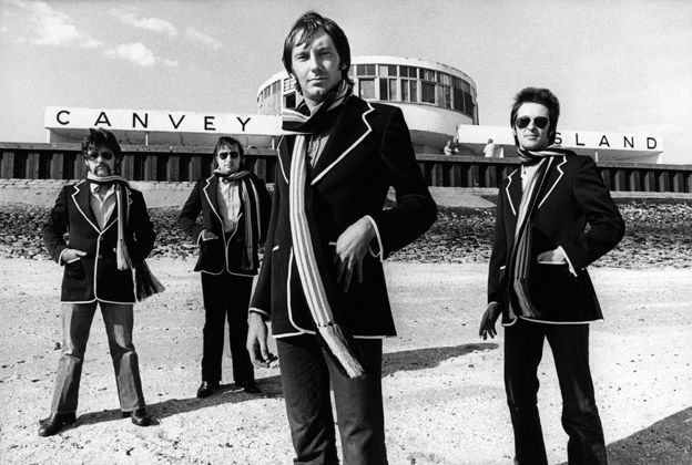 John B. Sparks, John Martin, Lee Brilleaux and Gypie Mayo of Dr. Feelgood.