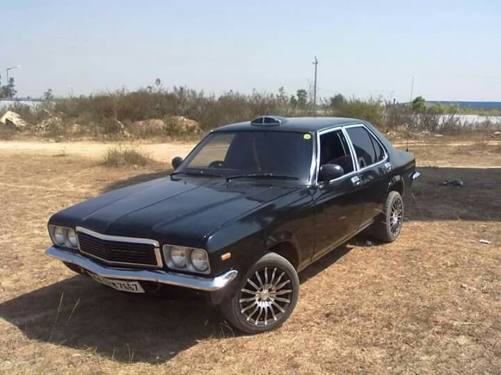 Hindustan Motors Contessa. What a ride!!! Probably the only muscle car ever made in India.  A pure classic..
