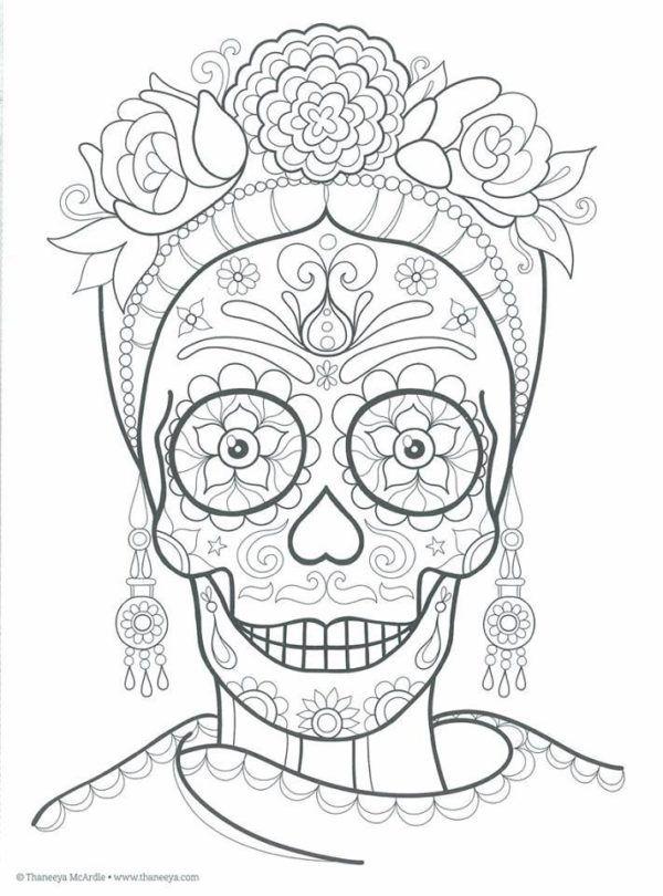 190 Mandalas Para Colorear Para Ninos Mandalas Calaveras Para Colorear Calaveras Mexicanas Para Colorear Dibujo Dia De Muertos