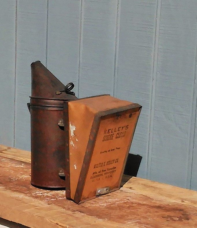 Vintage Bee Smoker - Kelley's Bee Smoker by theindustrycottage on Etsy