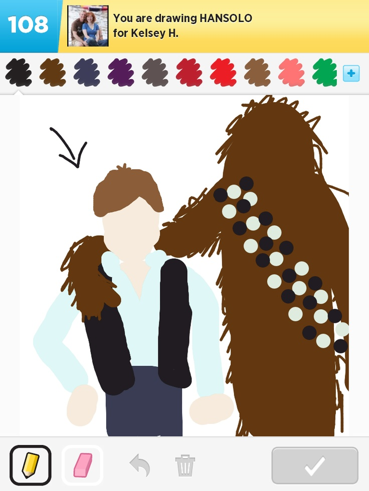 Han Solo and friend