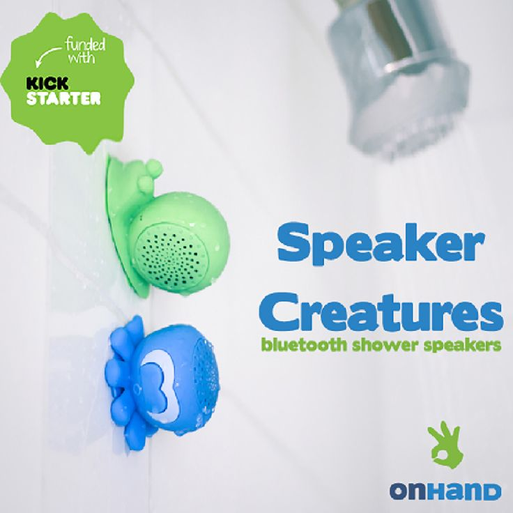 fun unique bluetooth speakers. Speaker Creatures  Bluetooth Shower Speakers by OnHand A waterproof water resistant with fun and quirky creature designs 136 best Best Waterproof Water Resistant Portable images