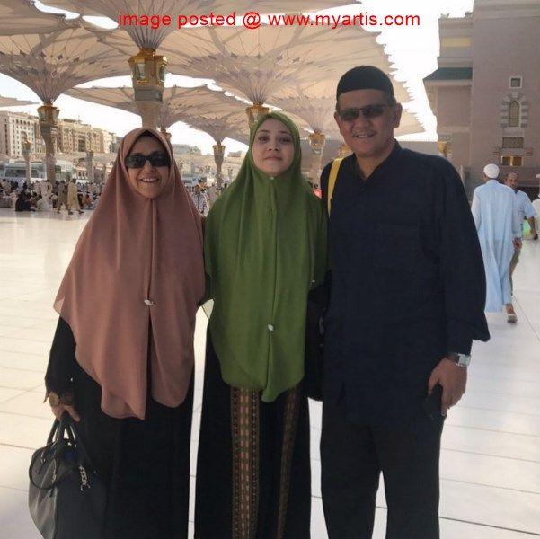 10 Gambar Fathia Latif Keluarga Di Tanah Suci Alhamdulillah Beruntung Pelakon Fathia Latiff Apabila Dapat Jadi Tetamu Allah Di Bula Tanah Suci Keluarga