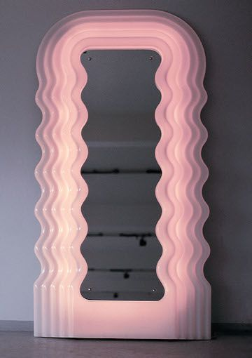 Ettore Sottsass Mirror Ultrafragola Old Good Things