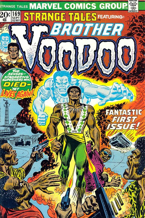 Strange Tales Featuring Brother Voodoo Comic Covers
