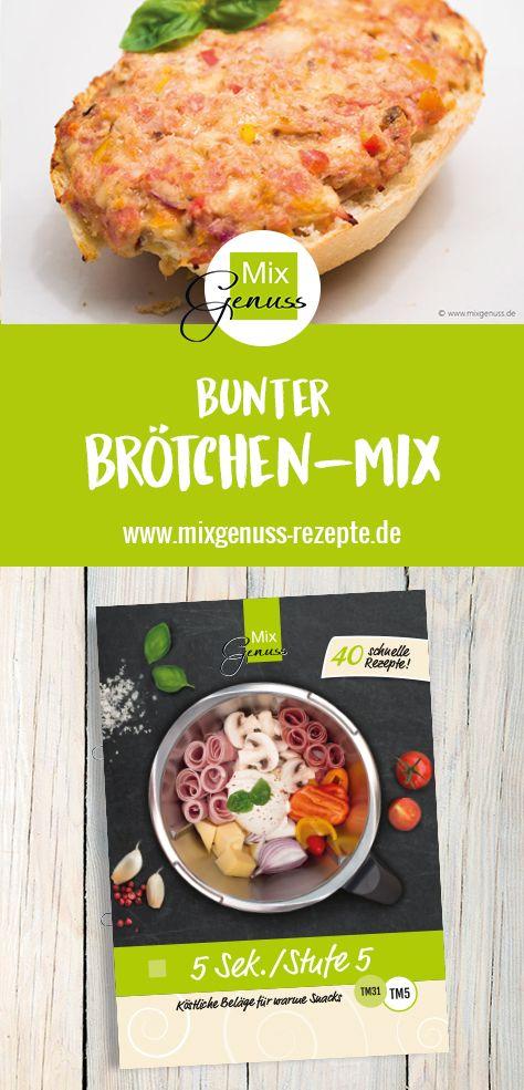 Bunter Brötchen-Mix – MixGenuss Blog