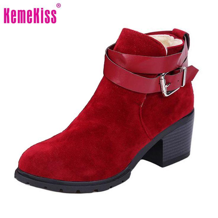 $29.18 (Buy here: https://alitems.com/g/1e8d114494ebda23ff8b16525dc3e8/?i=5&ulp=https%3A%2F%2Fwww.aliexpress.com%2Fitem%2FWinter-Fashion-Women-Boots-Thick-Heel-Platform-Shoes-Buckle-Autumn-Winter-Boots-Women-Martin-Boots-Ankle%2F32710186815.html ) Winter Fashion Women Boots Thick Heel Platform Shoes Buckle Autumn Winter Boots Women Martin Boots Ankle Boots Size 35-39  for just $29.18