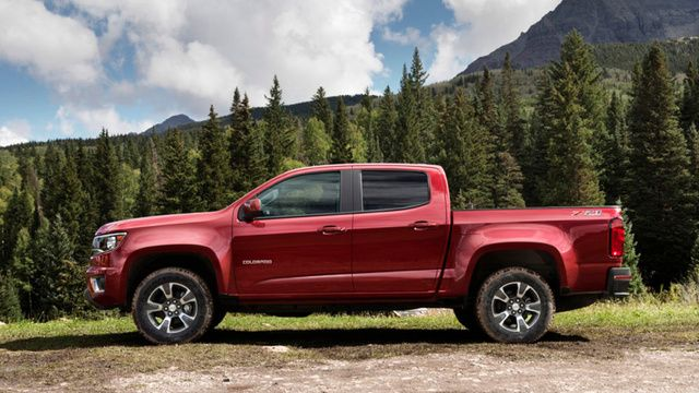 2015 Chevrolet Colorado Red