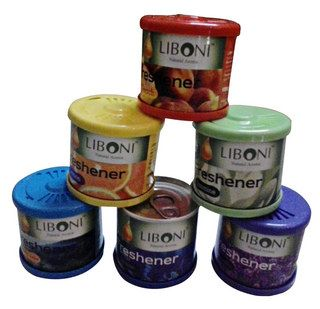 Buy Liboni Car Air Freshener For Rs 85 Only – 6 Flavour Car Perfumes