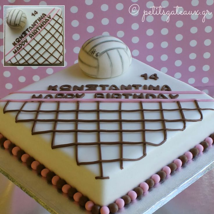 Volleyball cake!