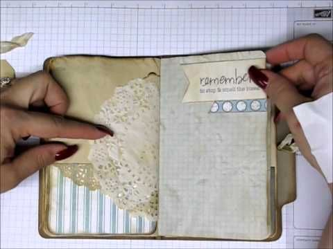 Vintage Junk Journal~plus two more at the end! - YouTube