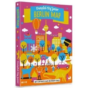 Crumpled City Junior-Berlin: Die cleveren Stadtpläne für City Kids