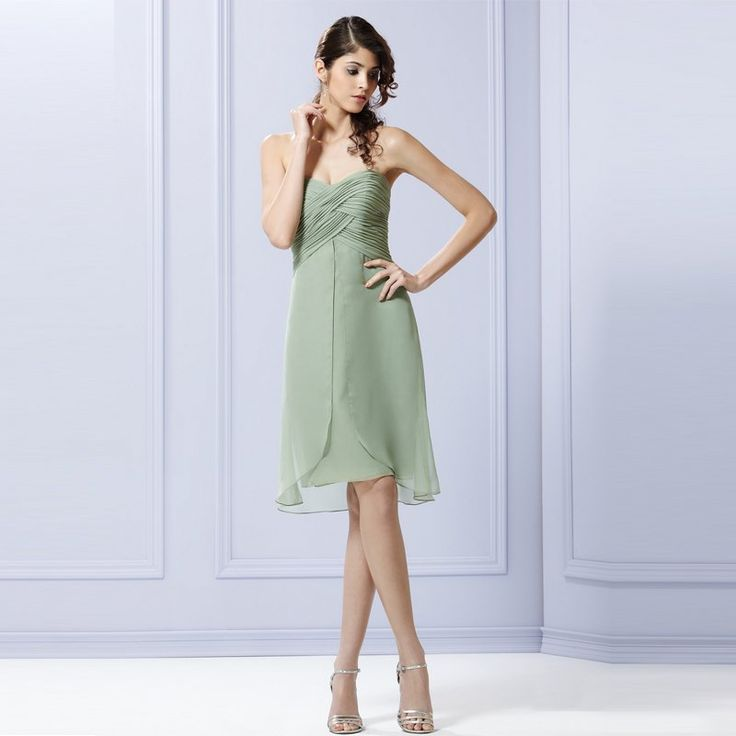 Beautiful Short Wedding Dresses With Color