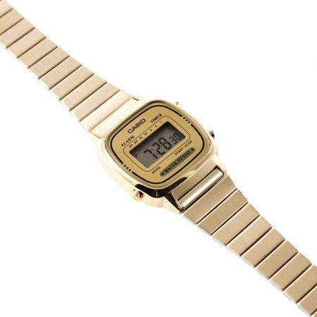 Relógio Casio Vintage Mini Dourado - LAÇOS de FILÓ | acessórios femininos