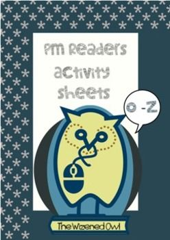 These worksheets are varied reading response/ comprehension/ grammar activities that support the PM Reader Series. All teacher-made. Included are 28 titles with 48 WORKSHEETS! (1-2 pages per title). All printable and geared to individual reading and comprehension ability levels.